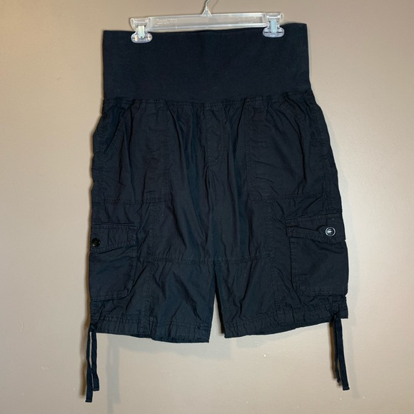 Calvin Klein black performance shorts